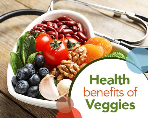 Health Benefits of Veggies