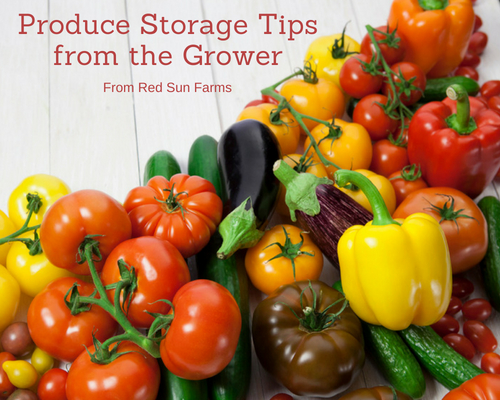 Produce Storage Tips from the Grower