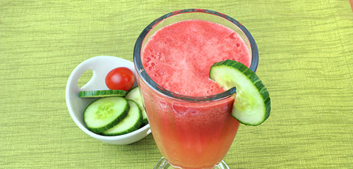 Watermelon Tomato Cooler