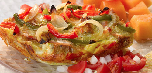 Bell Pepper Vidalia Onion Strata