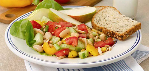 Garden Cannelli Bean Salad