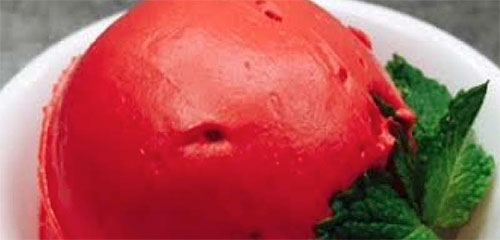 Red Pepper Sorbet
