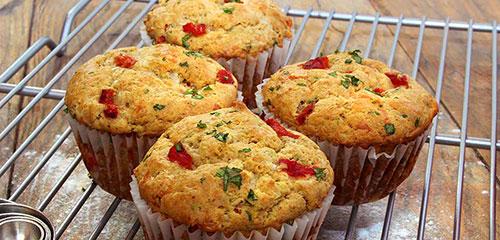 Savory Pepper Muffins