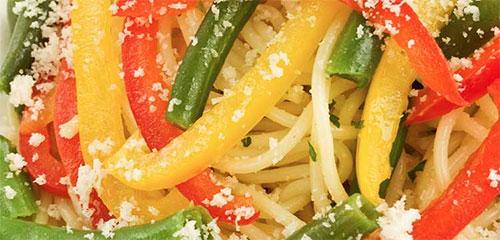 Sweet Bell Pepper Pasta